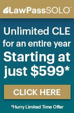 ALI-CLE's LawPass SOLO